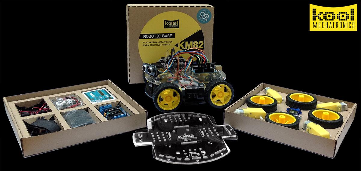 Kit KM82 en su caja.