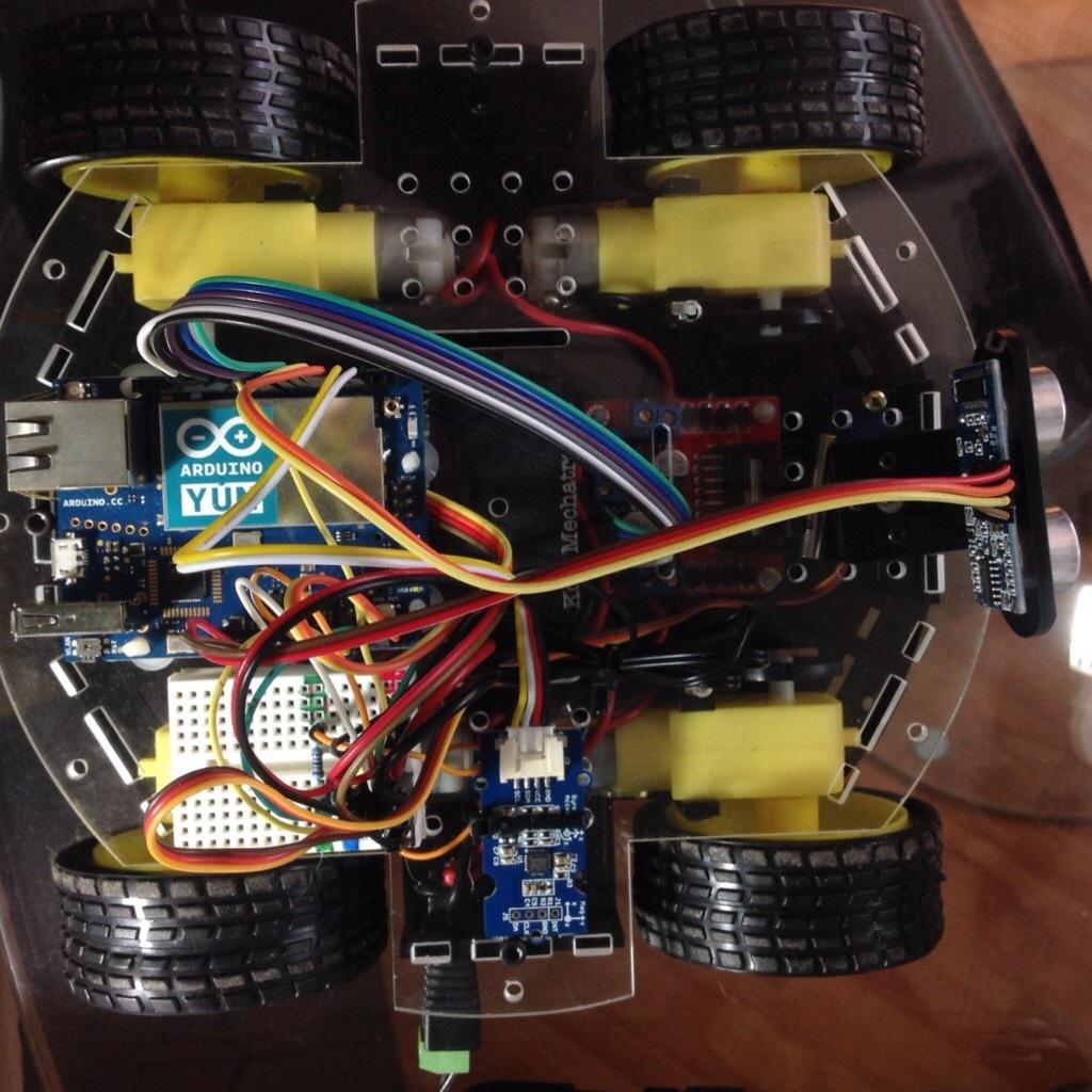 Montaje de JM82 con Arduino YUN